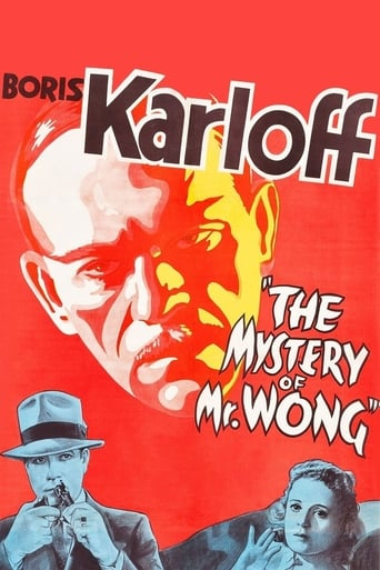 Poster of The Mystery of Mr. Wong
