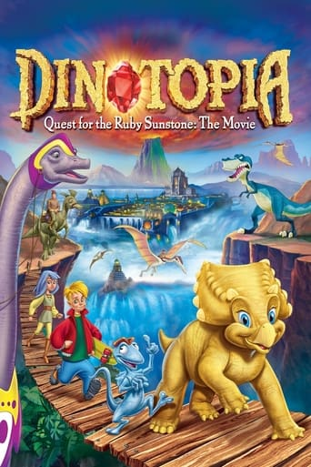 Poster of Dinotopia: Quest for the Ruby Sunstone