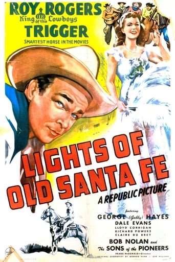 Poster of The Lights of Old Santa Fe