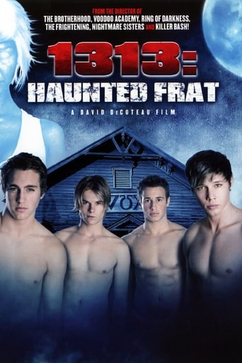 Poster of 1313: Haunted Frat