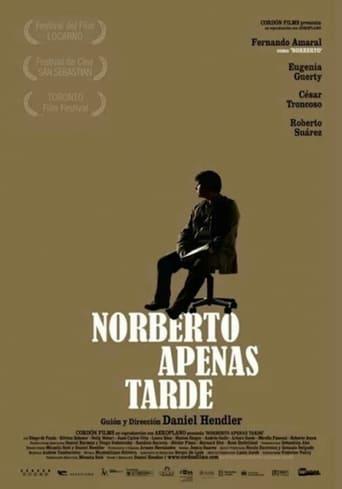 Poster of Norberto apenas tarde