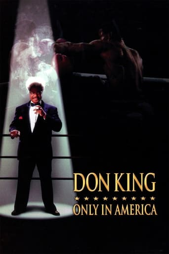 Poster of Don King: Only in America