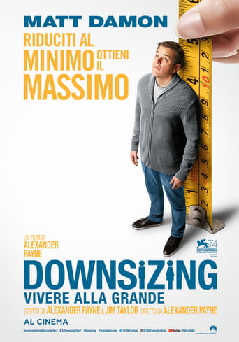 Poster of Downsizing - Vivere alla grande