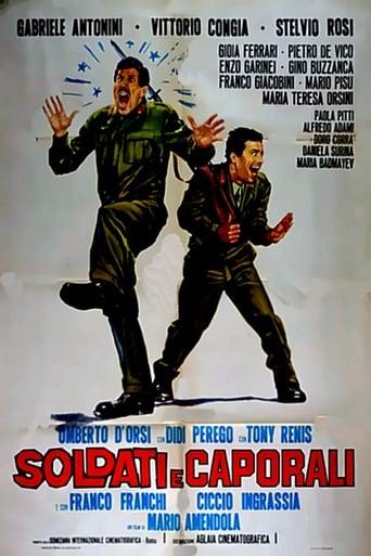 Poster of Soldati e caporali