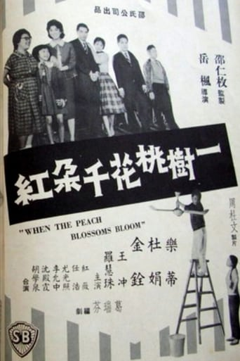 Poster of When the Peach Blossoms Bloom