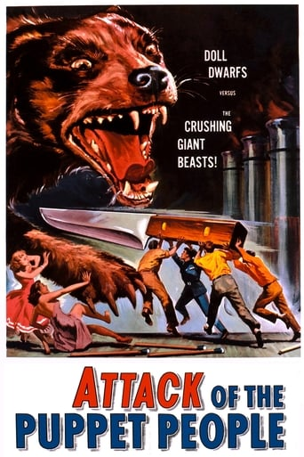Poster of Attack of the Puppet People