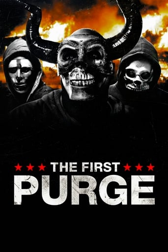Filmplakat von The First Purge