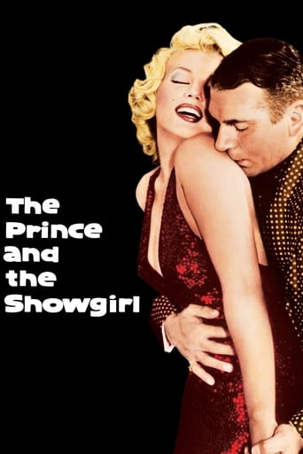 Poster of The Prince and the Showgirl