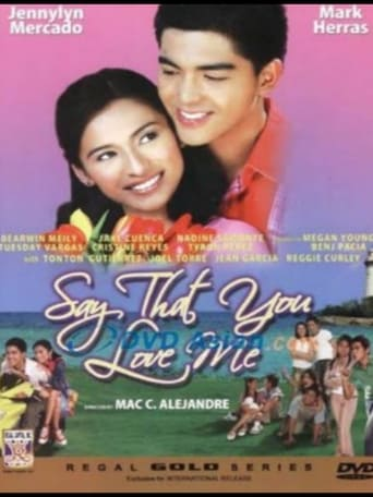 Poster of Say That You Love Me