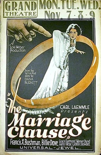 Poster of The Marriage Clause