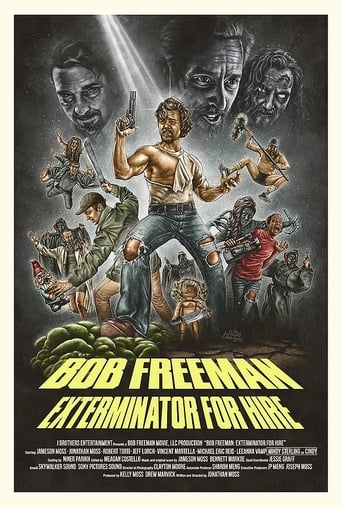 Poster of Bob Freeman: Exterminator For Hire