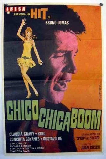 Poster of Chico, chica, ¡boom!