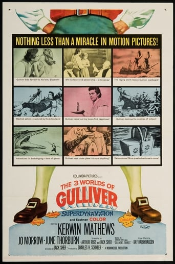 Los viajes de Gulliver The 3 Worlds of Gulliver