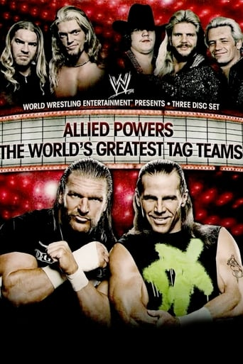 Poster of WWE: Allied Powers - The World's Greatest Tag Teams