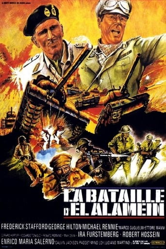 Poster of The Battle of El Alamein