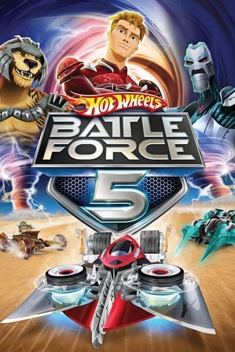 Poster of Hot Wheels Battle Force 5
