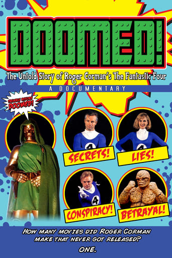 Poster of Doomed! The Untold Story of Roger Corman's The Fantastic Four