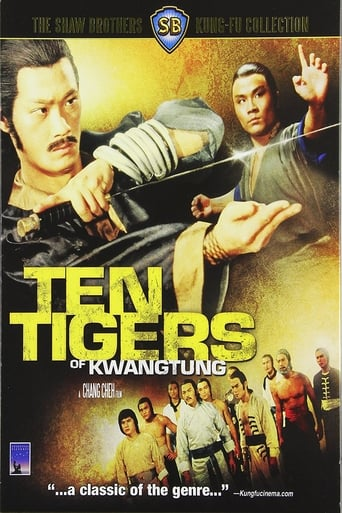 Poster of Ten Tigers of Kwangtung