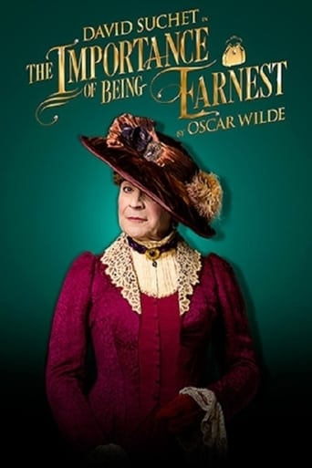 Poster of The Importance of Being Earnest on Stage