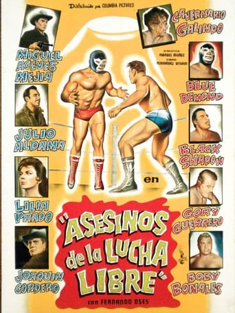 Poster of Asesinos de la lucha libre