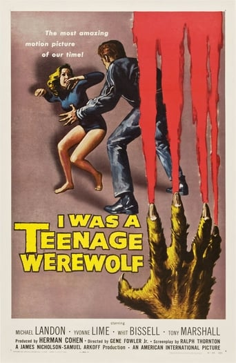 Poster of I Was a Teenage Werewolf