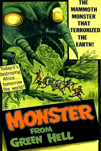 Poster of Monster from Green Hell