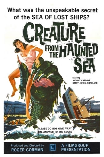 Poster of Creature from the Haunted Sea
