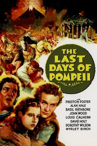 Poster of The Last Days of Pompeii