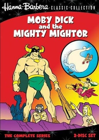 Poster of Moby Dick and Mighty Mightor