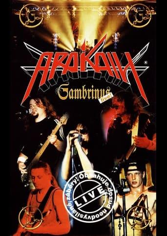 Poster of Arakain – Gambrinus live!