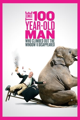 Poster of The 100 Year-Old Man Who Climbed Out the Window and Disappeared