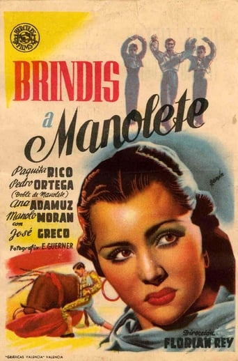 Poster of Brindis a Manolete