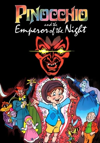 Poster of Pinocchio and the Emperor of the Night