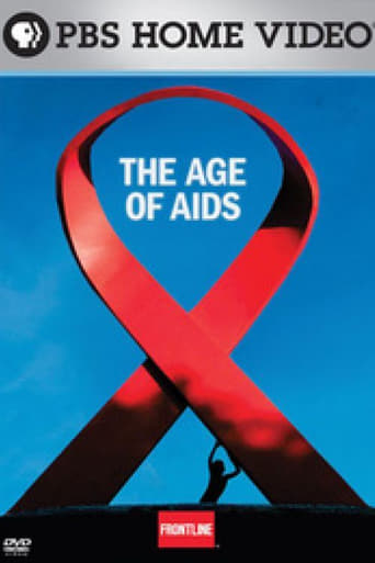 Frontline: The Age of AIDS Poster