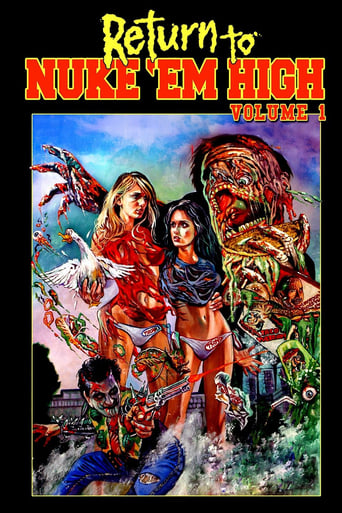 Poster of Return to Nuke 'Em High Volume 1