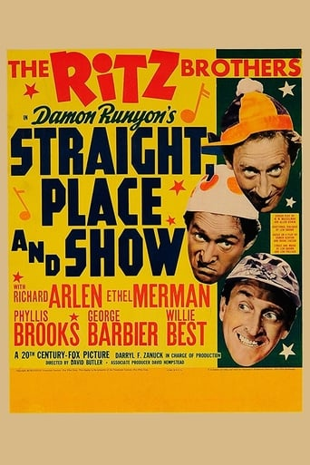 Poster of Straight, Place and Show