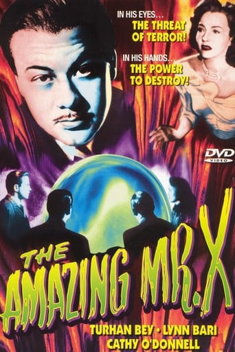 Poster of The Amazing Mr. X