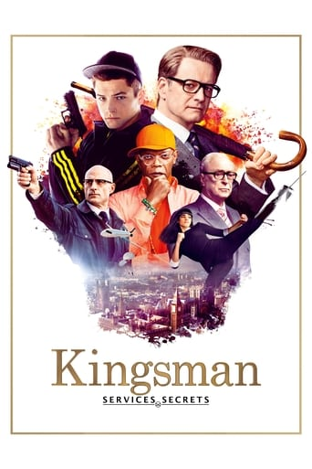 Poster of Kingsman - Services secrets