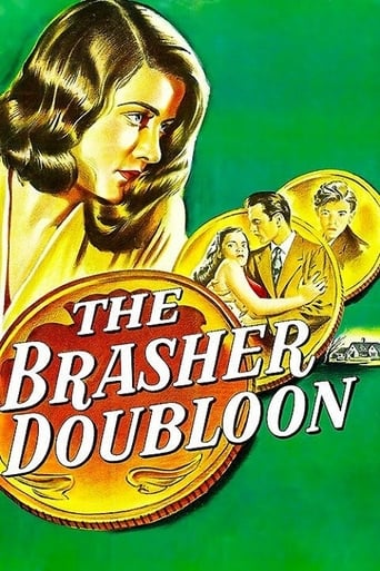 Poster of The Brasher Doubloon