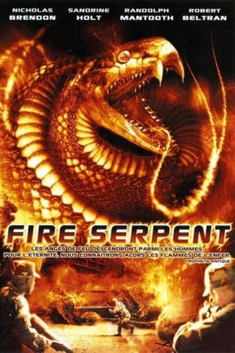 Poster of Fire Serpent