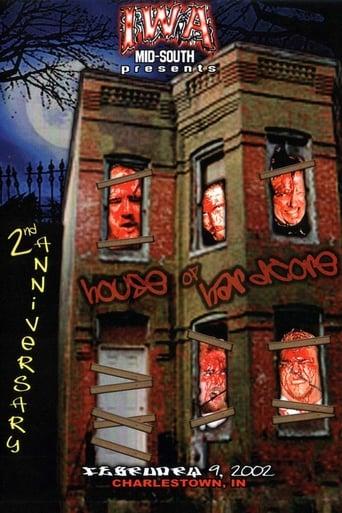 Poster of IWA-MS House of Hardcore 2nd Anniversary