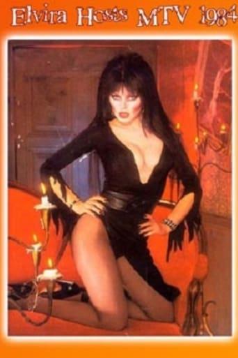 Poster of Elvira's MTV Halloween Party