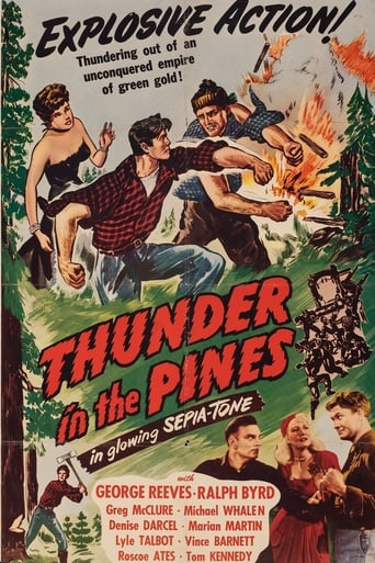 Poster of Thunder in the Pines