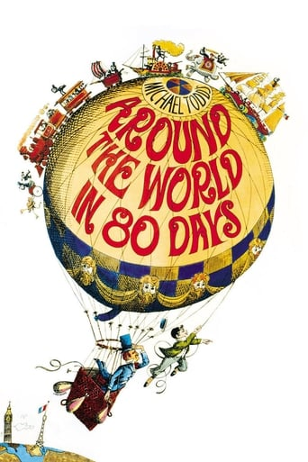 Poster of Around the World in Eighty Days