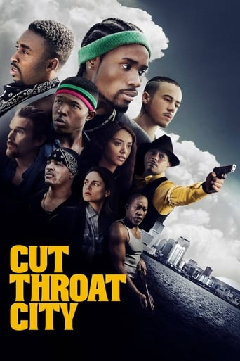 Poster of Cut Throat City