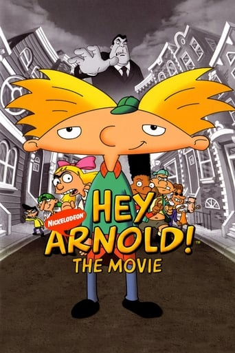 Poster of Hey Arnold! The Movie