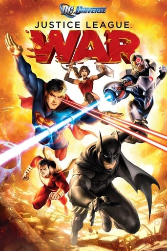 Poster of Justice League: War