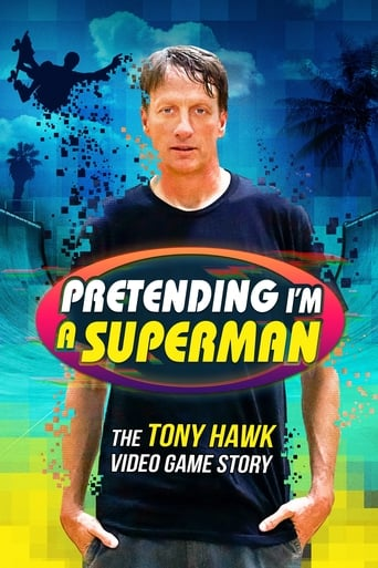 Poster of Pretending I'm a Superman: The Tony Hawk Video Game Story