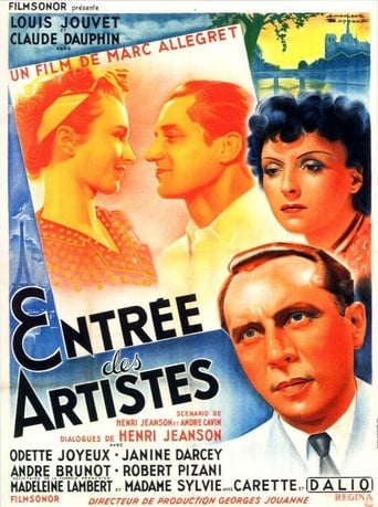 Poster of The Curtain Rises