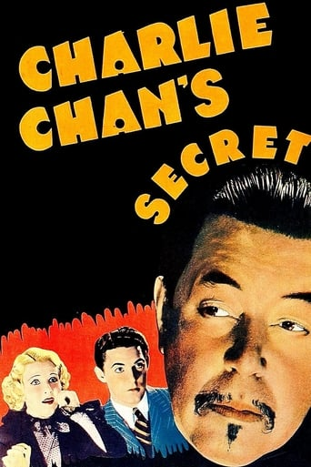 Poster of Charlie Chan's Secret